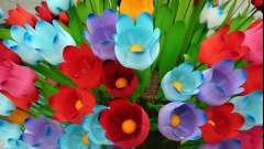 Полезное хобби: делаем цветы из бутылок