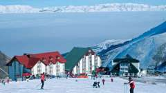 Популярные горнолыжные курорты турции