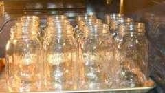 Последняя зачистка: стерилизация банок с заготовками в духовке