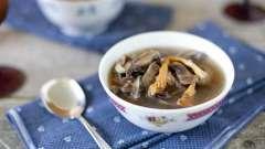 Постный грибной суп. Вкусный суп с грибами постный - рецепт