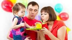 Поздравление девочке с днем рождения. 3 года - волшебный возраст