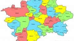Прага. Карта праги и деление на районы.