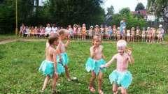 Празднуем день нептуна в детском саду