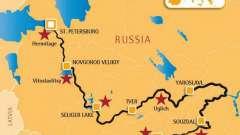 Преодолеваем расстояние от москвы до питера
