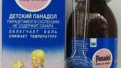 Препарат «панадол беби»: инструкция по применению