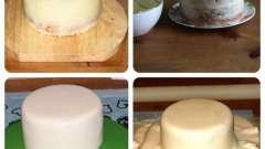 Приготовление крема под мастику для торта