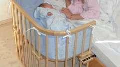 Приставная детская кроватка - купить или сделать самому