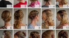 Простая прическа на длинные волосы с элементами плетения