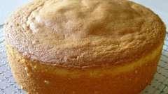 Простой рецепт коржа бисквитного