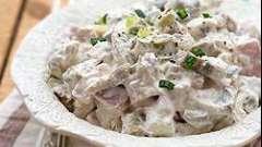 Простой рецепт: салат с индейкой