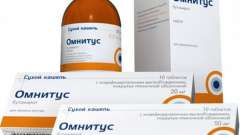 """Противокашлевое лекарство """"омнитус"""": инструкция по использованию"""