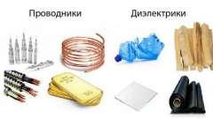 Проводник в электростатическом поле. Проводники, полупроводники, диэлектрики