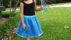 Пышная юбка для девочки. Своими руками обновляем гардероб маленькой принцессы