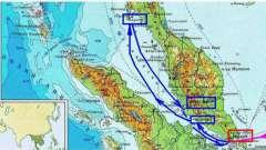 Расположение малаккского пролива на карте мира. Где находится и что соединяет малаккский пролив