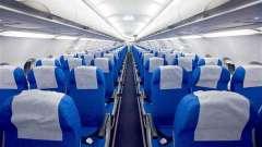 Расположение мест в самолете. Схема салона самолета