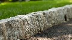 Размер бордюрного камня и его роль в ландшафте