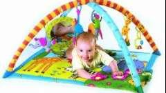 Развитию ребенка поможет детский игровой коврик
