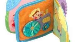 Развивающая детская книжка своими руками для детского сада