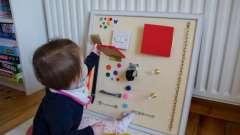 Развивающие игрушки для детей своими руками. Изготовление игрушек
