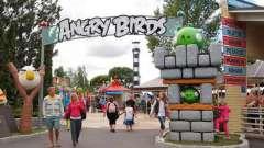 Развлекательный парк angry birds