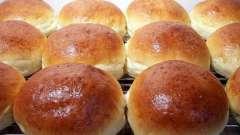 Рецепт булочек в духовке, вкусных и сладких. Как приготовить булочки в духовке?