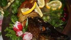 Рецепт приготовления щуки, фаршированной овощами