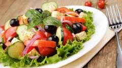 Рецепт салатов из листьев салата. Простые и оригинальные рецепты
