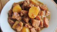 Рецепт тушеной картошки в мультиварке, или как приготовить ужин на скорую руку