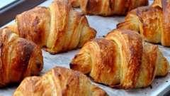 Рецепты приготовления и калорийность круассана