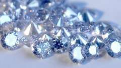 Редкие драгоценные камни - голубые бриллианты