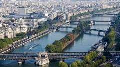 Река сена как символ парижа и всей франции