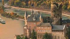 Реки европы. Река рейн - крупнейшая водная артерия западной европы.