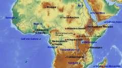 Рельеф африки и полезные ископаемые. Формы рельефа африки
