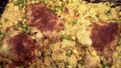 Рис, запеченный с курицей в духовке: особенности приготовления и лучшие рецепты