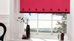 Рулонные шторы на пластиковые окна – стильно и оригинально