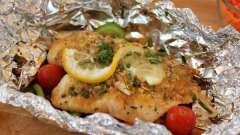 Рыба в фольге в мультиварке – рецепты приготовления