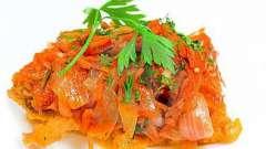 Рыба в маринаде. Вкусно и необычно