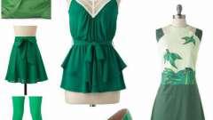 С чем можно сочетать зеленый цвет? Сочетание зеленого с другими цветами в одежде (фото)