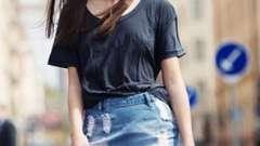 С чем носить джинсовую юбку: советы модниц
