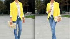 С чем носить желтый жакет: интересные идеи, сочетания и рекомендации