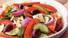 Салат из свежих овощей: рецепт с фото