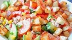 Салат «эдельвейс» с курицей и другими ингредиентами
