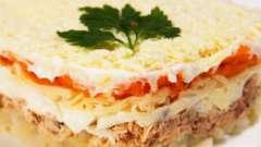 """Салат """"мимоза с тунцом"""", рецепты приготовления"""
