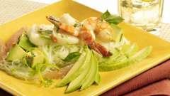 Салат с авокадо и морепродуктами: фото, рецепты