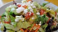 Салат с болгарским перцем и сыром. Несколько рецептов