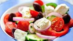 Салат с фетой: рецепты приготовления
