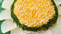 """Салат """"солнышко"""": рецепт приготовления"""