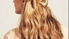 Самая модная прическа - бант из волос. Как делать бант из волос