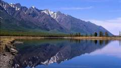 Самое большое пресноводное озеро в мире по запасу воды - байкал