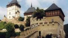 Самые красивые замки чехии. Замок из костей в чехии